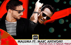 Felices los 4 Maluma, Marc Anthony